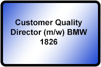 Customer Quality Director BMW 1826