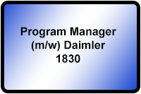 Program Manager Daimler 1830