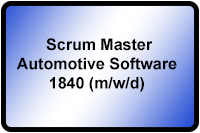 Scrum Master Automotive Software 1840