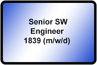 Senior SW Engineer 1839